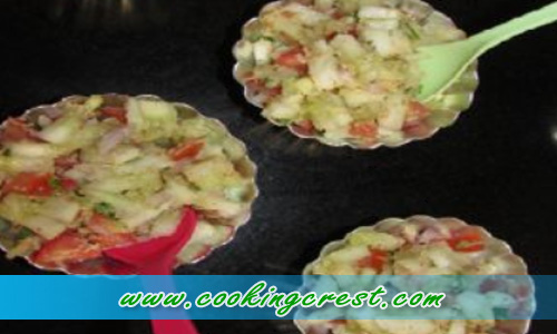 Cucumber Peanut Chat Recipe