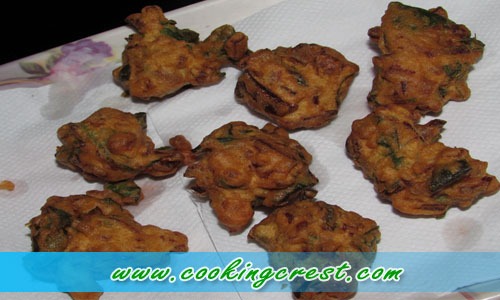 Drumstick Leaves vadai