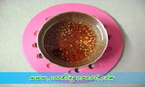 Infants Flax Millet Porridge