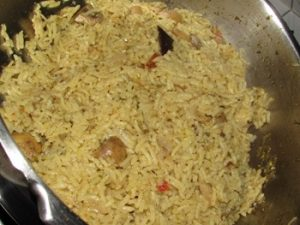 To Make Simple Biryani