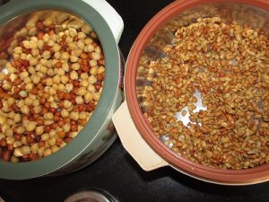 How to sprout grains using a hot pack