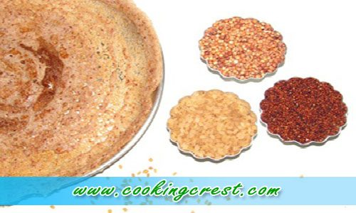 Red Sorghum Dosa