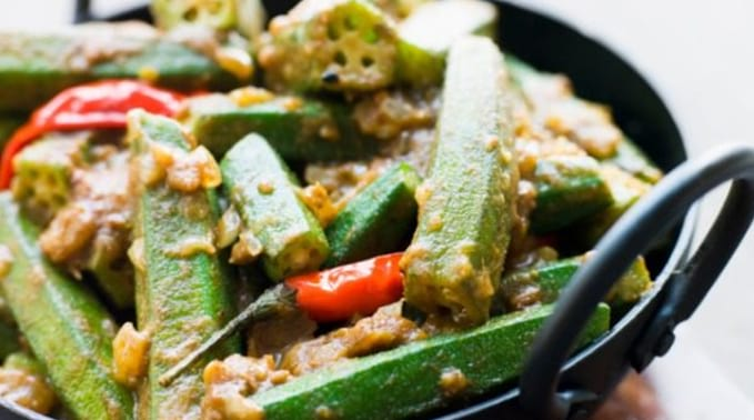 Masala Bhindi Vegetarian Dinner Recipes
