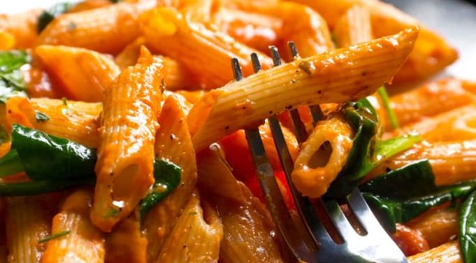 Penne A La Vodka Vegetarian Dinner Recipes